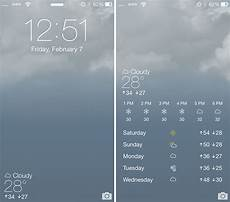 Live Weather Wallpaper Iphone by Forecast Ios 7 Animated Wallpapers Weather For Your