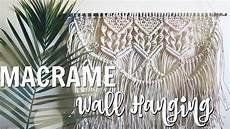 how to diy macrame wall hanging