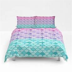 mermaid scales comforter or duvet cover set