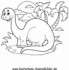 Dinosaurier Ausmalbilder A4 Ausmalbild Dinosaurier Zum Kostenlosen Ausdrucken Und