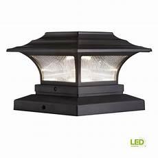 Deck Solar Light Caps 2 Pack Solar Led Deck Post Cap Light 4 Quot X4 Quot Bronze Outdoor