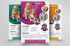 Pet Flyer Pet Shop Business Flyer Template Flyer Templates