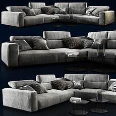 Sofa Bed For Bedroom 3d Image by Sofa Boconcept Hton 3d Model Sofa Design