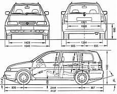 Car Blueprints Чертежи автомобилей Volkswagen