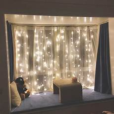 How To Make A String Light Curtain Led Window Curtain String Lights For Home Decor Rowe
