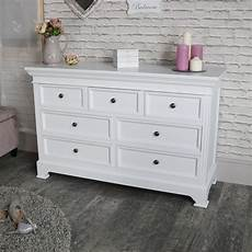 Large Chest Designs Large White 7 Drawer Chest Of Drawers Flora Furniture