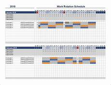 Shift Rotation Scheduling Free Rotation Schedule Template