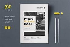 Proposal Document Design Proposal Brochure Brochure Templates Creative Market
