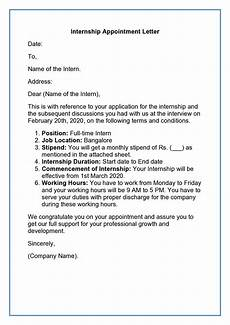 Appointment Letter For Job Format Appointment Letter Job Appointment Letter Format Sample