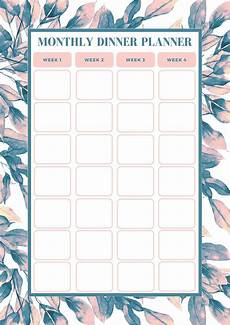 Weekly Monthly Planner Template Free Monthly Meal Planning Template Bake Play Smile