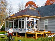 building a sunroom sunroom addition solid construction