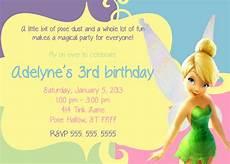 Tinkerbell Invitation Tinkerbell Invitation By Partypassiondesign On Etsy