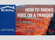 How To Smoke Ribs on a Traeger Grill   YouTube