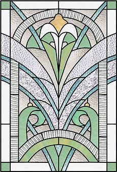 Art Deco Stained Glass Window Designs Art Deco Amp Nouveau Stained Glass Windows