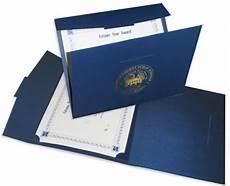 Certificate Folder Design Presentation Folders