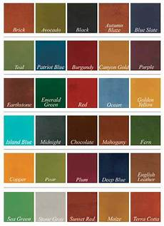 Stained Concrete Colors Chart Acid Stained And Color Dyed Garage Floors All Garage Floors