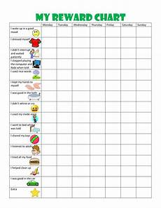 Toddlers Reward Chart 44 Printable Reward Charts For Kids Pdf Excel Amp Word