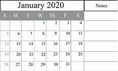 2020 calendar doc how to schedule your month with january 2020 printable