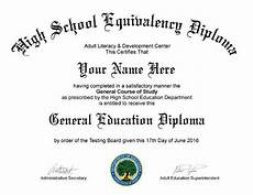 Ged Certificate Template Electronic Pdf Fake Ged High School Diploma Ebay