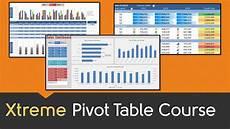 Excel Pivot Chart Tutorial Excel Pivot Table Online Course Youtube