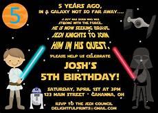 Star Wars Birthday Party Invitations Star Wars Birthday Party Invitations