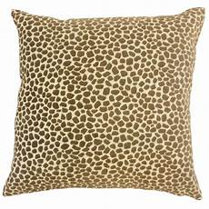 the pillow collection meltem animal print cotton throw