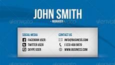 Social Media Business Card Social Media Business Card By Artnook Graphicriver