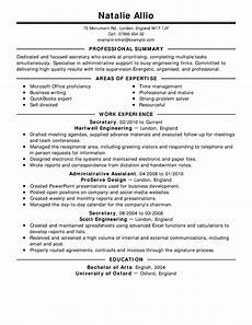 Resume Sample Free Free Resume Examples By Industry Amp Job Title Livecareer