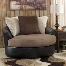 oversized accent chairs masoli mocha oversized swivel accent chair signature