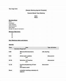 Agenda Template Word 2013 Word Agenda Template 6 Free Word Documents Download