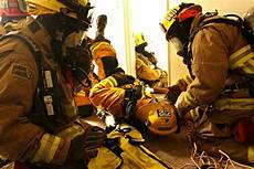 Marine Corps Firefights Rescue Training For Marine Corps Firefighters Marine