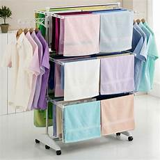 hanger drying rack clothes laundry folding dryer indoor
