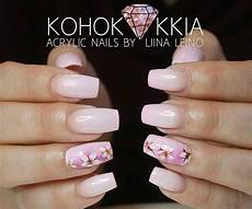 Acrylic Nails With Flower Design 80 Stylish Acrylic Nail Design Ideas Perfect For 2016