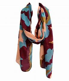 Cotton Yarn Price Chart India Swikar Multi Abstract Poly Cotton Yarn Scarves Buy Online