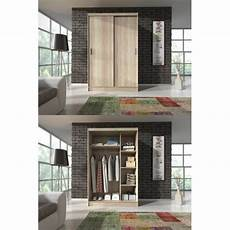 checo small modern sliding door wardrobe on onbuy