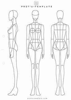 Body Templates For Designing Clothes Professional Fashion Design Body Templates мода цифры