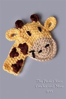 crochet applique crochetpedia 2d crochet giraffe applique