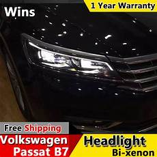 2012 Vw Passat Light Assembly Wins Lights For Vw Passat B7 Headlight 2012 2015 Upgrade