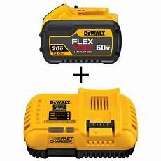 Dewalt Battery Charger Light Fast Dewalt Flexvolt 20 Volt 60 Volt Max Lithium Ion 12 0 Ah