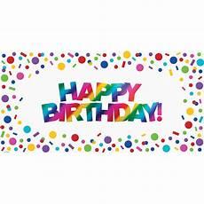 Colorful Happy Birthday Banner Metallic Rainbow Happy Birthday Banner Happy Birthday