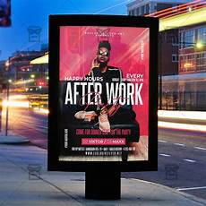 Party Flyer Size After Work Party Template Flyer Psd Instagram Ready Size