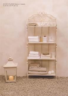 scaffale per bagno mobiletti e accessori bagno in ferro battuto hancock