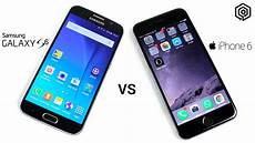 Samsung S6 Vs Iphone 6 Samsung Galaxy S6 Vs Iphone 6 Youtube