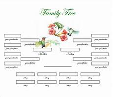 Family Template Family Tree Template 31 Free Printable Word Excel Pdf