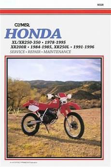 Books On Honda Motorcycles 200 To 299cc