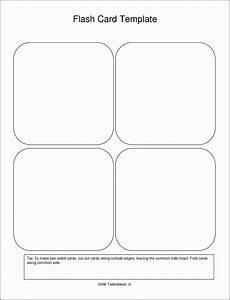 Flash Cards Templates 9 Free Printable Flash Card Template Sampletemplatess