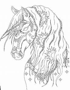 Ausmalbilder Herbst Pferde Pin Borrmeister Auf Mandala Pferd Ausmalbilder