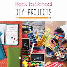 diy projects for school back to school diy projects the cottage market
