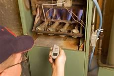 Electric Furnace Pilot Light How To Inspect A Gas Furnace Standing Pilot Light