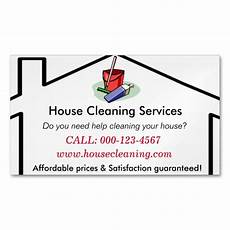 Business Cards For Cleaning Services House Cleaning Services Business Card Template Zazzle Com